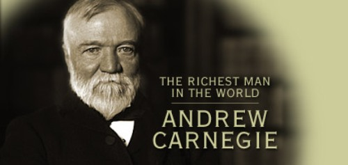 Andrew Carnegie The richest man