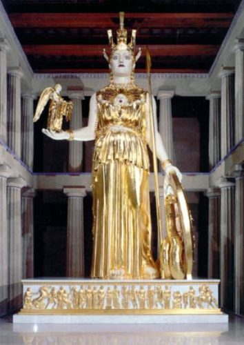 Athena in Gold