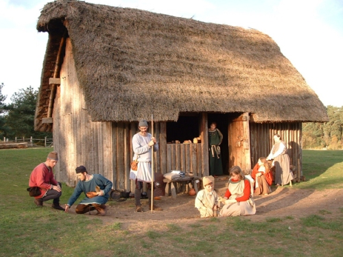 Anglo Saxons village