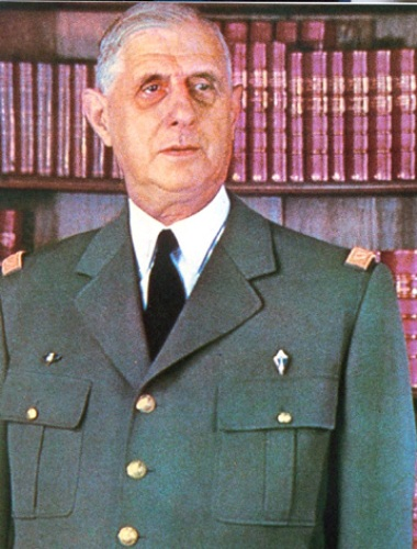 Charles De Gaulle photo