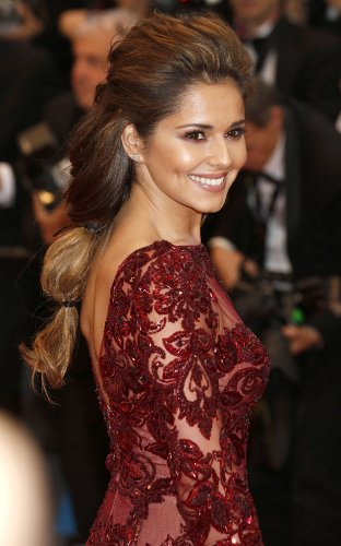 Cheryl Cole in Maroon