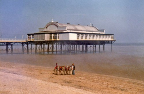 Cleethorpes and beach