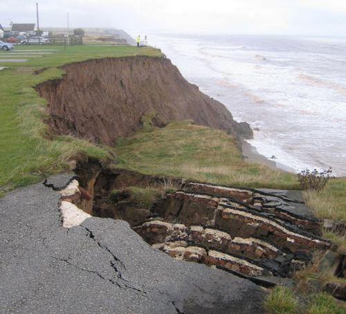Coastal Erosion Accident