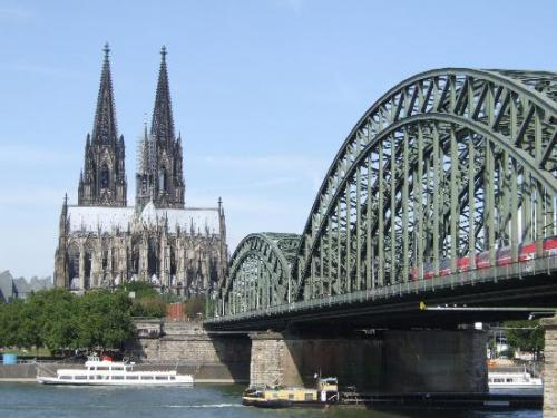 Cologne Germany Bridge