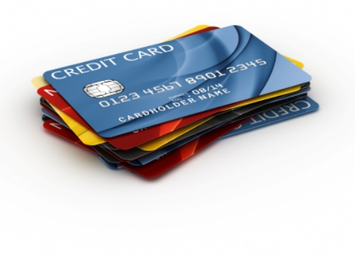 Credit Card piles