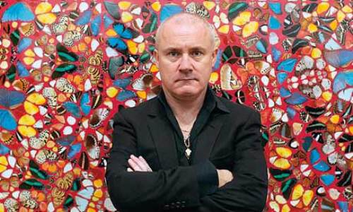 Damien Hirst facts