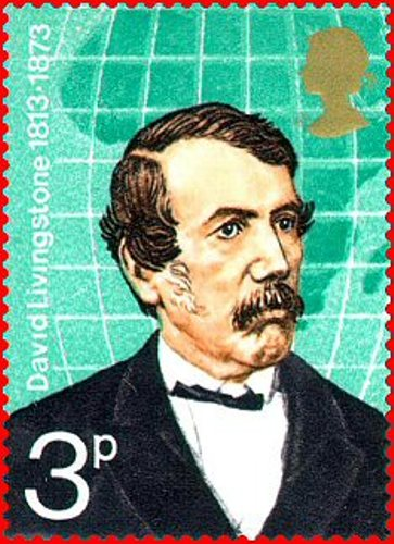 David Livingstone stamp