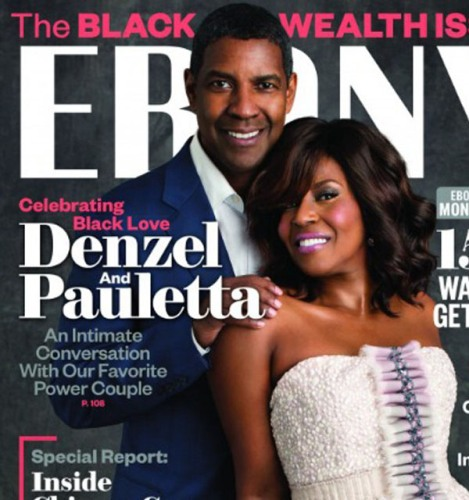 Denzel Washington Magazine Cover