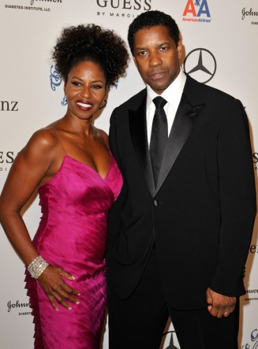Denzel Washington and Wife