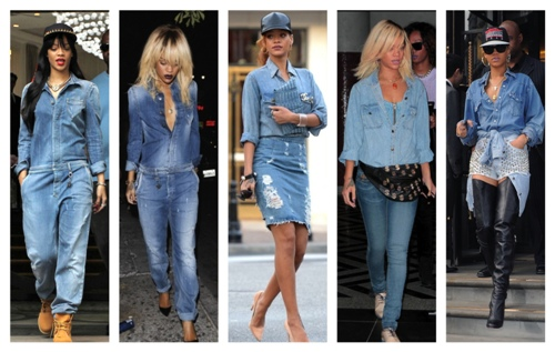 denim for celebs