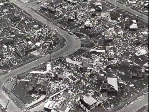 Cyclone Tracy damage