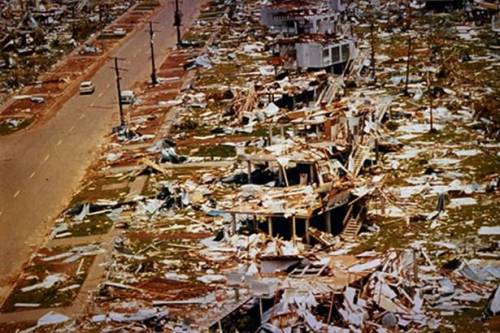Cyclone Tracy in Darwin