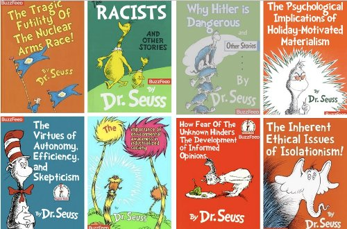 Dr Seuss Cartoon