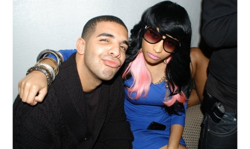 Drake  and Minaj