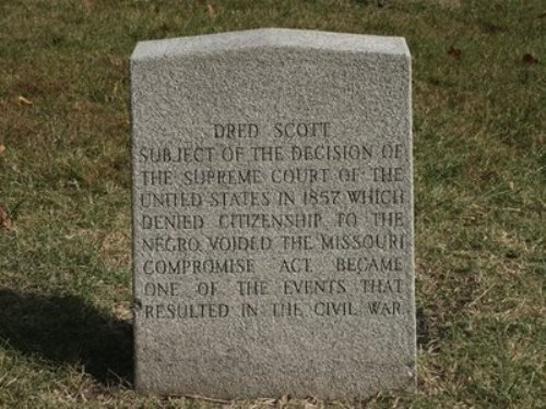 Dred Scott Tomb