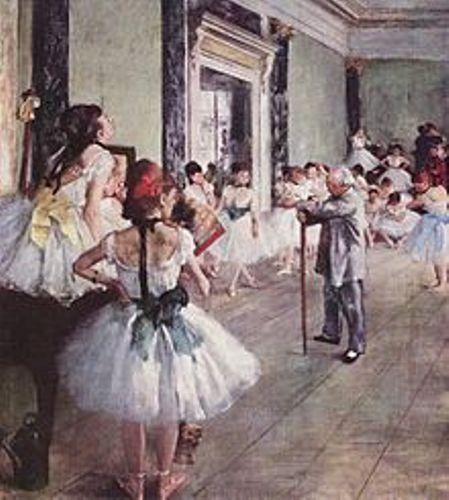 Edgar Degas Painting