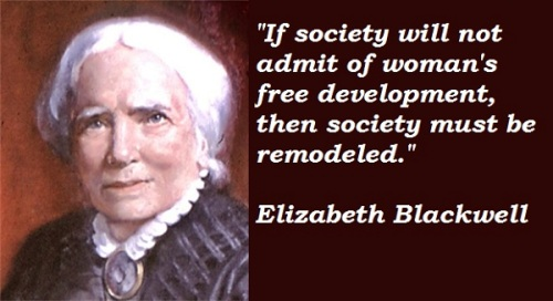 Elizabeth Blackwell  Quotes