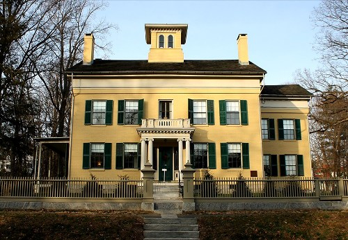 Emily Dickinson's house