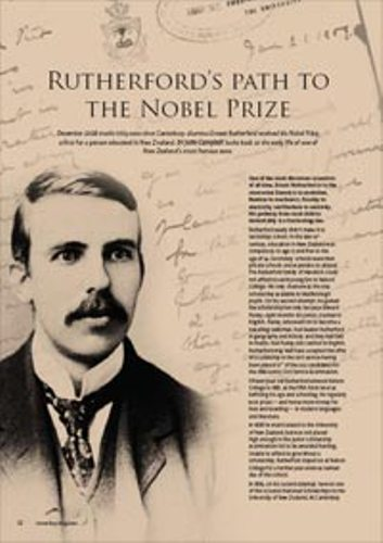 Ernest Rutherford facts