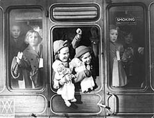 Evacuee's Train
