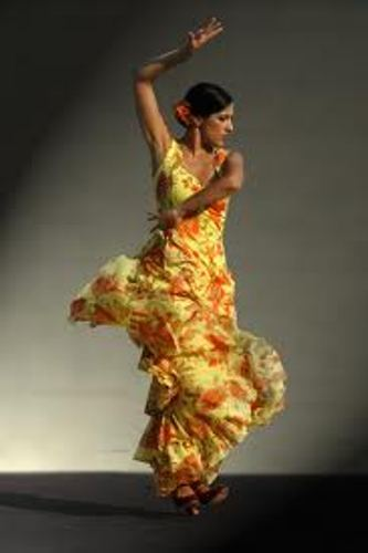 Flamenco Dancing Costume