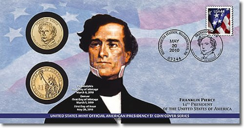 Franklin Pierce Stamp