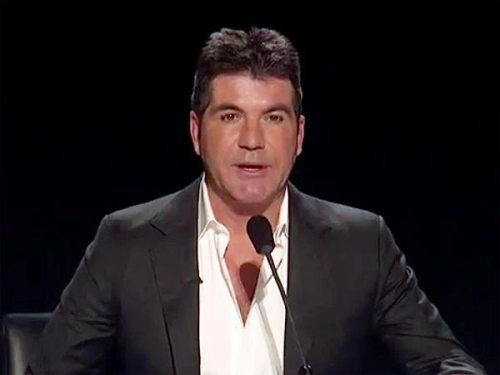 Simon Cowell on TV