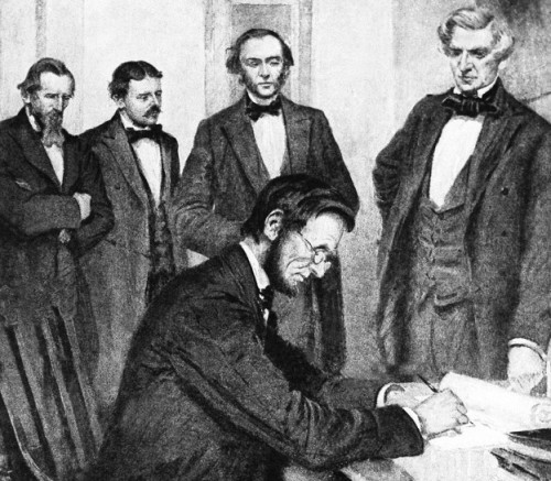 The Emancipation Proclamation and Lincoln