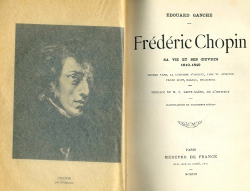Frederic Chopin Book