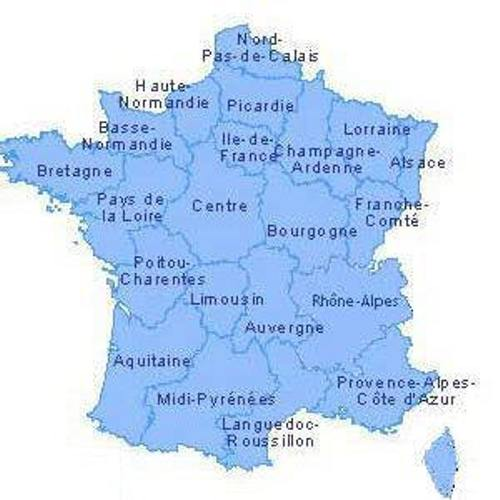 French Speaking Countries Map
