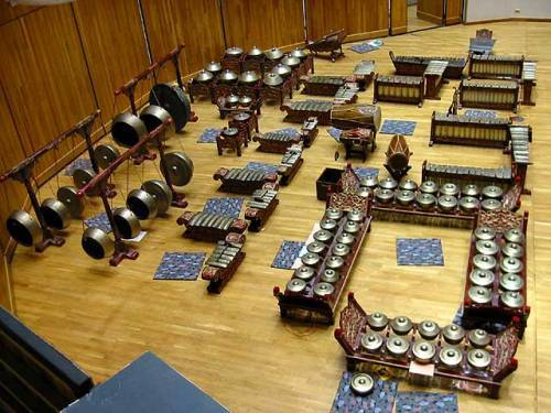 Gamelan Music Performance