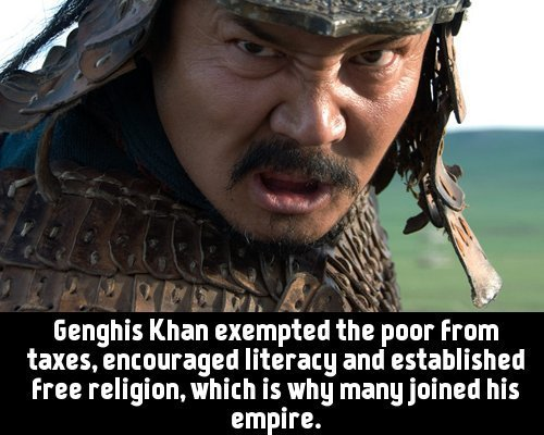 different opinions about whether genghis khan Alexander vs genghis khan  by force so your empire can grow what does it matter whether you had a  to equate two totally different.