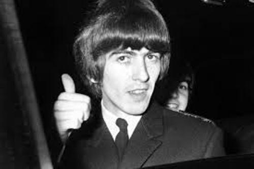 George Harrison Hair