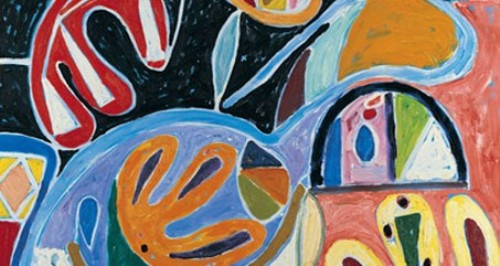 Gillian Ayres Painting
