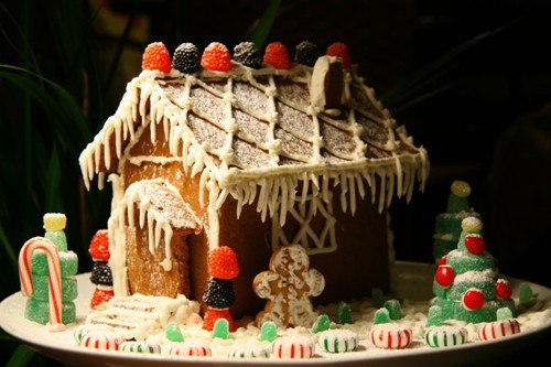 Gingerbread House Unique