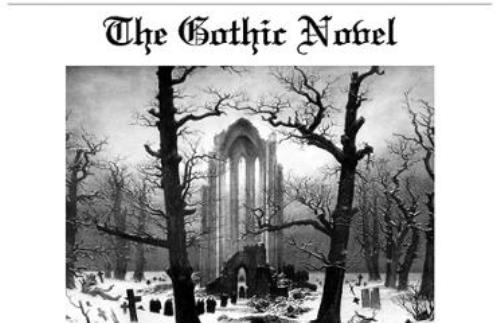 Gothic Literature Facts