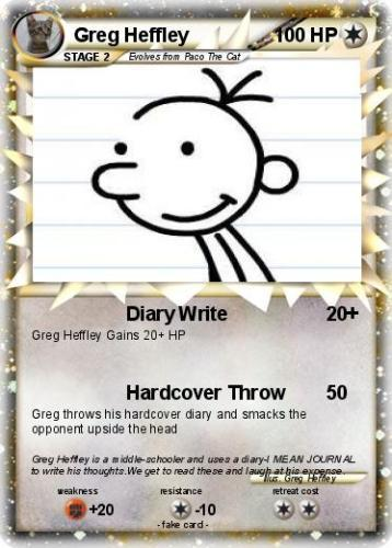 Greg Heffley facts