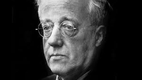 Gustav Holst face