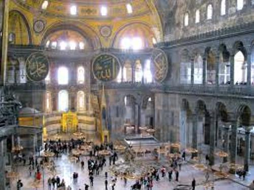 Hagia Sophia Visitors