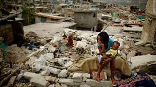 Haiti Earthquake Buildings