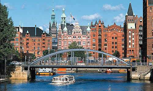 Hamburg Germany Bridge