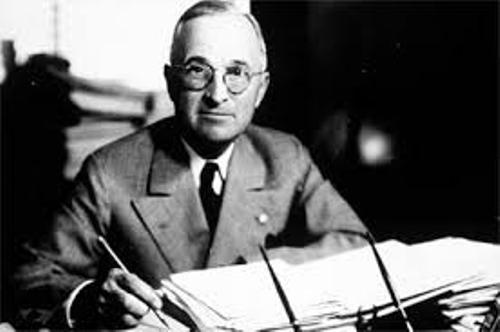 Harry S Truman US