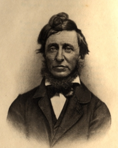 Henry David Thoreau Young