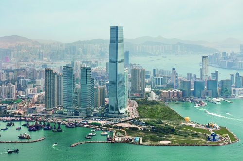 Hong Kong Coastline