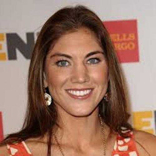 Hope Solo face