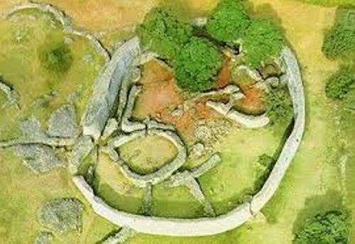 great zimbabwe map