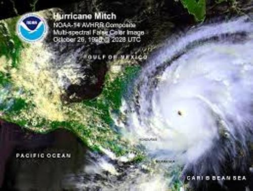 Hurricane Mitch Images