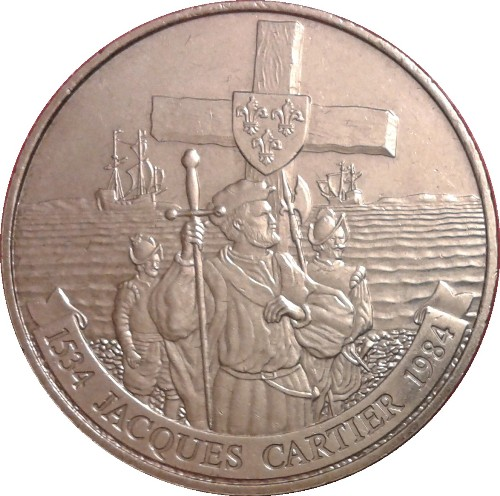 Jacques Cartier Coin