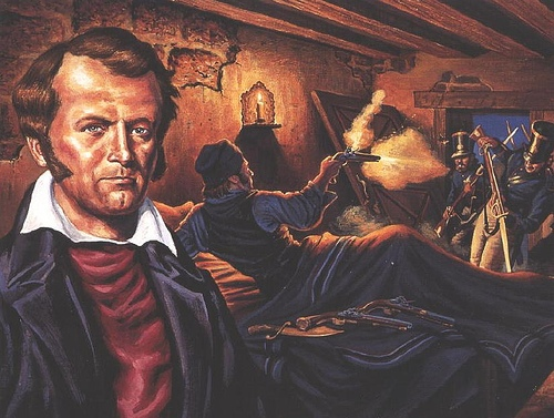 James Bowie facts