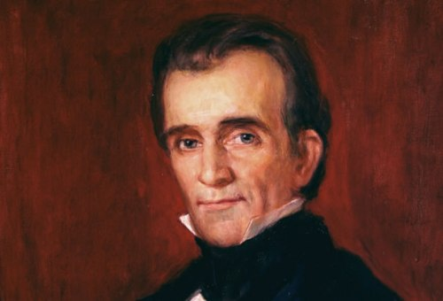 James K Polk Face